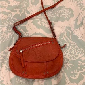 Madewell 1937 accessories red leather crossbody